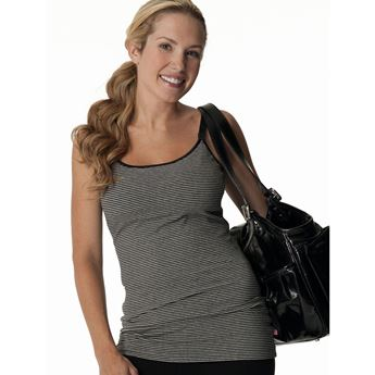 Picture of Nursing Bra Long Top w/Adjustable Chest Band (B7)
