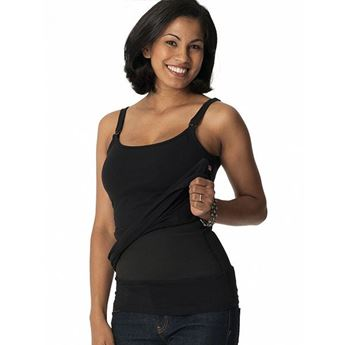 Picture of Nursing Bra Tummy Control Long Tank (T1)
